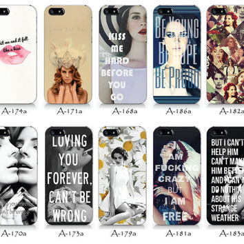 A- Lana Del Rey   iPhone 4/4S case, iPhone 5/5S case