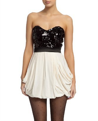 Sequin Bubble Dress - Bardot