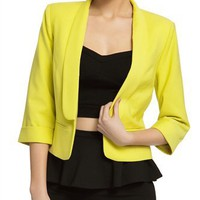 Neon Nights Blazer - Bardot