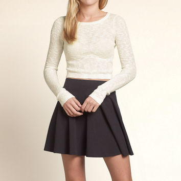 Old Town Slim Cropped Sweater