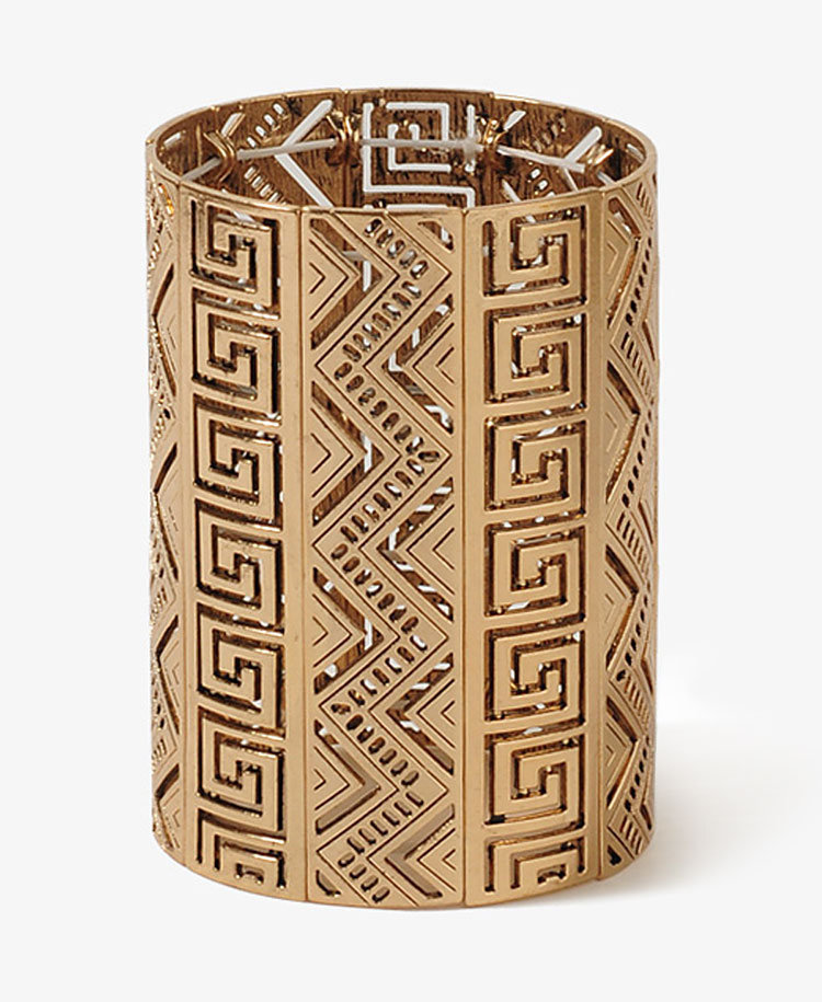 Tribal Pattern Cutout Bracelet | FOREVER21 - 1012183781