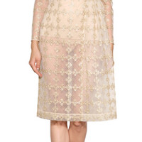THE LOOK | Designer look with 'Sheer Dress' from Simone Rocha | Luxury fashion online | STYLEBOP.com