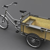 Fancy - sanitov cargo bike