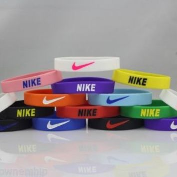 Nike Baller Band Silicone Rubber bracelet (18)PIECES Wholesale LOT ☆SAVE HUGE $