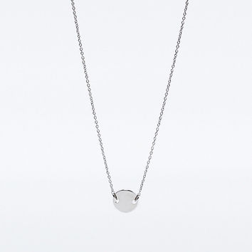 Cheap Monday Simplicity Necklace in Silver - Urban Outfitters