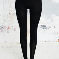 80 Denier Opaque Tights in Black - Urban Outfitters