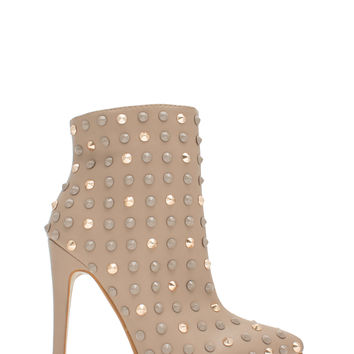Studded Queen Pointy Booties