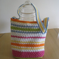 Woman's Tote or Purse, Crochet Pattern PDF 12-021
