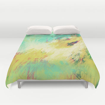 theGATHERINGsquare Duvet Cover by Timothy Davis