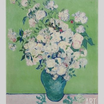White Roses Collectable Print by Vincent van Gogh at Art.com