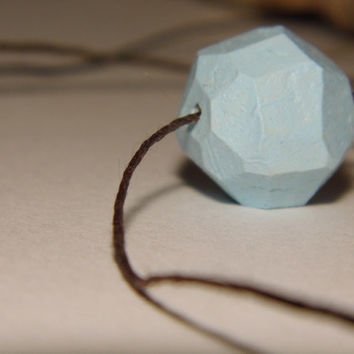 Pastel-blue necklace
