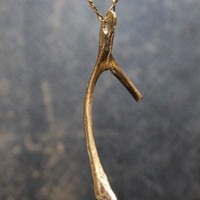 Wishbone Necklace - A Thanksgiving Wish
