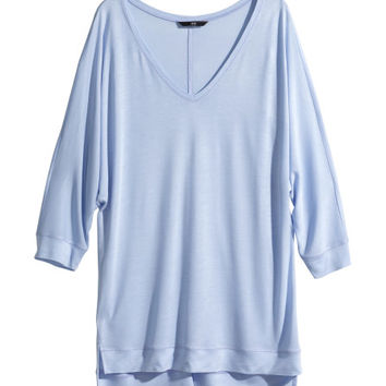 Top with Dolman Sleeves - from H&M