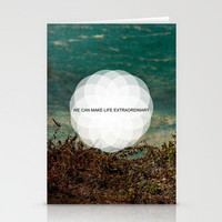 Extraordinary II Stationery Cards by Galaxy Eyes | Society6