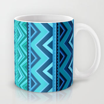 Blue #4 Mug by Ornaart