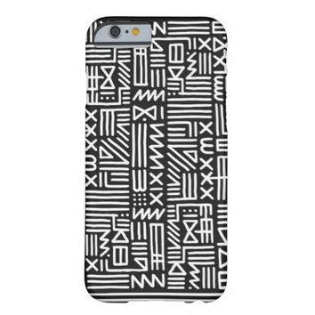 Black and White Tribal pattern iPhone 6
