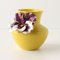 Pretty Pansy Vase-Anthropologie.com