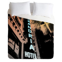 Amy Smith Alexandria Hotel Fleece Throw Blanket