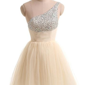Gorgeous Bridal 2014 Pretty Tulle Skirt Homecoming Dress for Teenagers