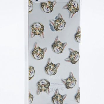 Clear Cat iPhone 5 Cover - Urban Outfitters