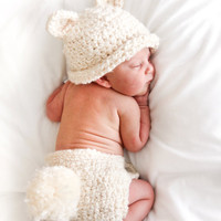 Beary Cute Welcome Baby set