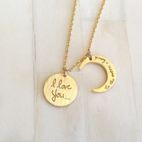 I Love You.. Necklace