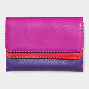 Sunset Double-Flap Wallet | MoMA