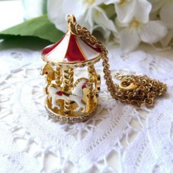 Merry-go-round Necklace - Retro, Indie and Unique Fashion