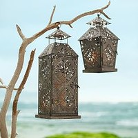 Filigree Patterned Galvi Lanterns