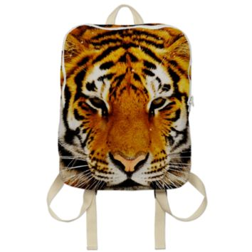Siberian Tiger Backpack created by ErikaKaisersot | Print All Over Me