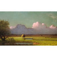 Sunlight and Shadow: The Newbury Marshes, c. 1871/1875 Giclee Print by Martin Johnson Heade at Art.com