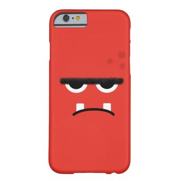 Funny Red Monster Face