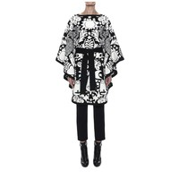 Felted Naive Pagan Jacquard Cape Alexander McQueen | Top | Tops Knitwear |