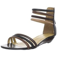 Nine West Women`s Vixen Sandal,Black Multi,8 M US