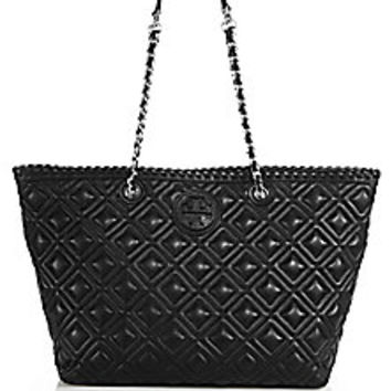 Tory Burch - Marion Small Quilted Tote - Saks Fifth Avenue Mobile