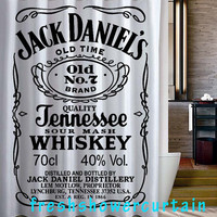 jack daniels Shower Curtain