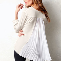 Pleated-back Blouse - Victoria's Secret
