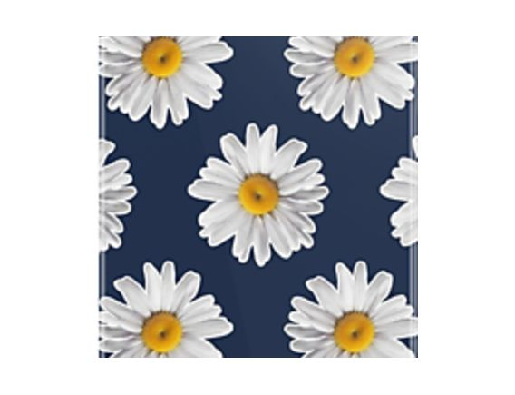 Daisy Blues #2 - Daisy Pattern on Navy