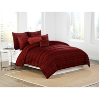 DKNY Washed Stripe Duvet Cover