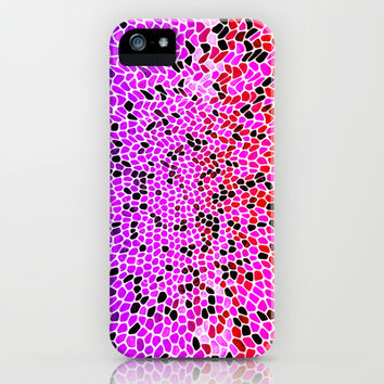 THINK LILAC CORAL iPhone & iPod Case by Catspaws | Society6