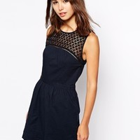 Superdry Lace Insert Dress
