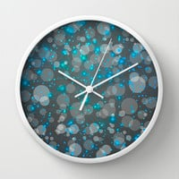 In the Midst of Movement & Chaos (Geometric Galaxy) Wall Clock by soaring anchor designs ⚓ | Society6