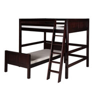 Walmart: Camaflexi Full Over Twin L-Shape Loft Bed with Panel Headboard