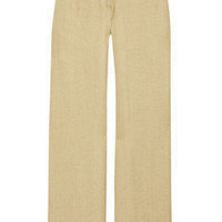 Adam Woven linen wide-leg pants - 65% Off Now at THE OUTNET
