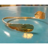 ReForm School: Feather Bangle by Alana Douvros