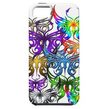 Butterfly phone case.