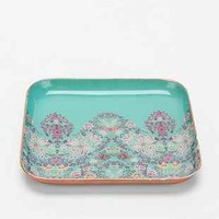 Plum & Bow Floral Woodblock Catch-All Dish - Urban Outfitters