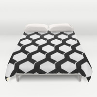 Abstract Decor 15 Duvet Cover by Maioriz Home