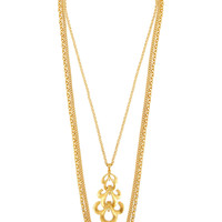 Ben-Amun Gold-tone necklace – 50% at THE OUTNET.COM