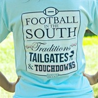 Football In South Tee